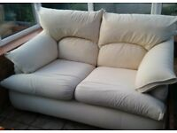 House of Fraser 2 Seater Sofa white