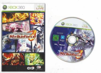 Dynasty Warriors: Strikeforce game for Microsoft Xbox 360 Adelaide CBD Adelaide City Preview
