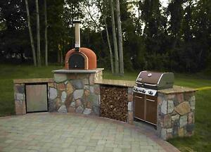 Outdoor Pizza Ovens & Pizza Oven Kits, Brick, Clay, Wood Fired Mississauga / Peel Region Toronto (GTA) image 8