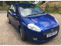 Fiat Grande Punto 1.4 2006. 81450 miles. Tax and MOT till March 2019. Reliable and great to drive.