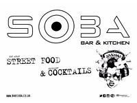 Front of House Staff Wanted @ Bar Soba - Byres Road