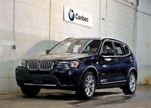 2013 BMW X3 xDrive28i | PREMIUM PACKAGE | NAVIGATION | BACKUP