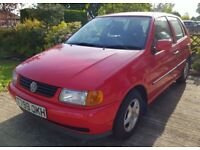 VW POLO CL 1.4 5 DOOR HATCHBACK (1999 YEAR)