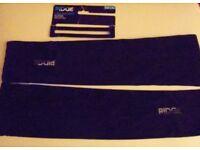 Unisex Ridge Arm Warmers. Black. Size L/XL