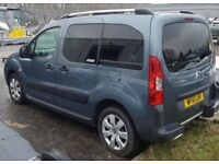 2010 Berlingo MPV. 3 seats. Kitted out for wheelchairs. Ramp & wheelchair fixtures. Low Mileage 22K