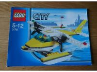 Lego City 3178 Seaplane As New Condition