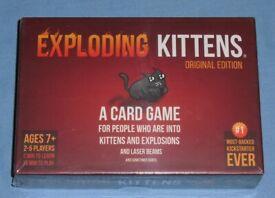 'Exploding Kittens' Card Game (new)