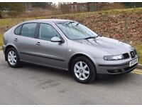 Seat Leon 1.4 with Low Mileage & New 1 YRS MOT