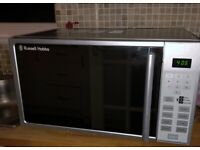Russell Hobbs 800W - 20L - Digital Microwave Oven - Silver