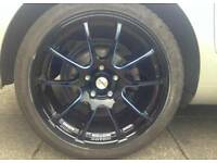 Alloy wheels for swaps