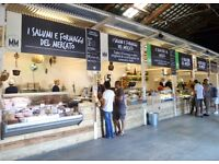 Front of House Staff Required at Mercato Metropolitano - South London Italian Food Market
