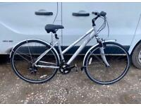 Ladies hybrid bike 18'' alloy frame £75