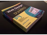 Web Design All-in-One for Dummies (5 books in 1)