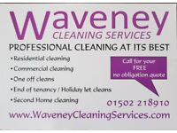 Waveney cleaning services provides a professional service to meet your needs