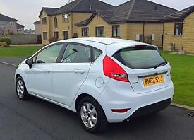 2012(62) FORD FIESTA ZETEC 1.6 tdci ECOnetic 5 door
