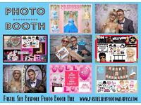 PHOTO BOOTH HIRE Tailored to your theme! From £120! UNLIMITED PRINTS & DISC OF PHOTOS!
