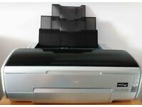 A3+ Photo Printer With Spare Cartridges And Photo Paper Bundle