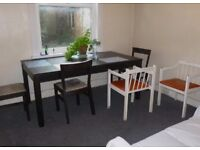 BEAUTIFUL SPACIOUS 2 BEDROOM GARDEN FLAT NEAR ZONE 2 NIGHT TUBE, 24 HOUR BUSES, SHOPS & SUPERMARKETS
