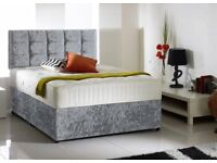 SAMEDAY FREE Delivery 7DAYS a WEEK Top Quality Double Bed/ Single Bed full Set with LUXURY Mattress