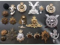 WW2 onwards 20 badges & buttons