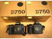 NIKON D750s New condition extremely low shutter count