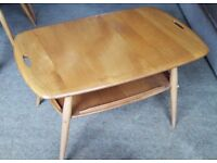 Ercol Butlers tray top coffee table