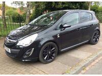 Vauxhall Corsa 1.2 Petrol Manual Black Limited Edition