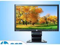 LENOVO 23 INCH TFT CHEAP PC MONITOR HOME OFFICE COMPUTER CCTV GRADE