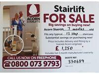 Acorn stairlift inc fitting.
