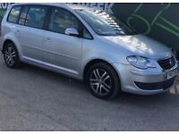 2008 VOLKSWAGEN TOURAN AUTOMATIC 2.0 DIESEL, 7 SEATER, MOT 12 MONTHS, SERVICE HISTORY