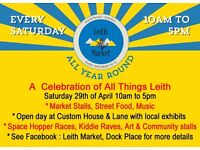 A Celebration Of All Things Leith - Leith market hosts a fun day out for all the family