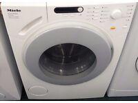 Miele washing machine in white