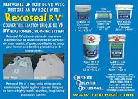 REPAIR AND RESTORE AN RV ROOF WITH REXOSEAL