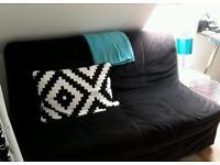 Black Ikea Sofa Bed
