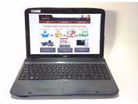 ACER 5738/ INTEL DUAL CORE 2.00 GHz/ 4 GB Ram/ 320 GB HDD/ HDMI/ WIRELESS/ WEBCAM - WIN 7