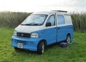 Rare Daihatsu Extol Professionally Converted 2 Berth Micro Campervan Low Mileage