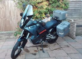 2008 KTM 990 Adventure with ABS, FSH, HPI clear, black, 16k