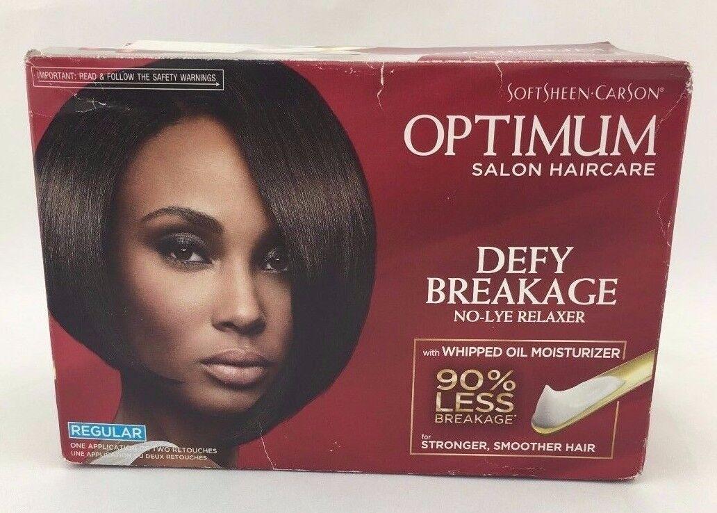 Softsheen Optimum Salon Haircare Defy Breakage No-lye Rel...