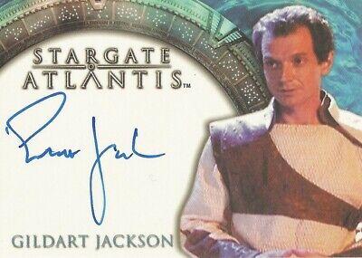 "Stargate Atlantis Season 1 - Gildart Jackson ""Janus"" Autograph Card"