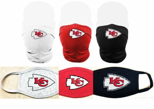 Kansas City Chiefs Super Bowl Champs Face Mask or Gaiter - Adult & Youth Sizes
