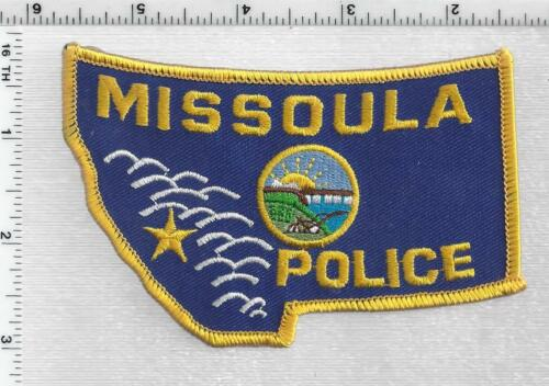 Missoula Police (Montana) 3rd Issue Shoulder Patch