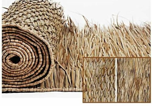 Mexican Palm Thatch Roll Grass Palm Leaf Thatching  4- PCS 30in x 4ft