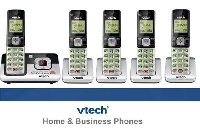 VTECH DECT 6.0 CORDLESS HOME PHONE TELEPHONE WITH ANSWERING MACHINE  SET SYSTEM