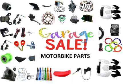 Motor Bike Parts - Massive Garage Sale