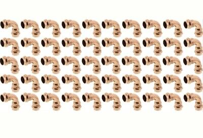 Lot Of 50 12 Propress Copper 90 Elbows Press Copper Elbows Lead Free