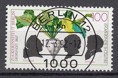 BRD 1992 Mi. Nr. 1599 gestempelt BERLIN 12 , mit Gummi TOP! (16578)