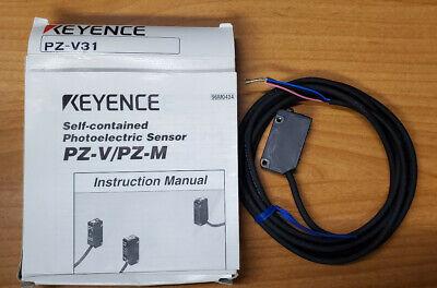 Keyence Pz-v31 Photoelectric Sensor