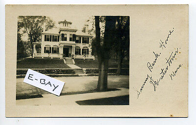 For sale Watertown MA Mass Sunny(?) Bank Home, RPPC real photo, early