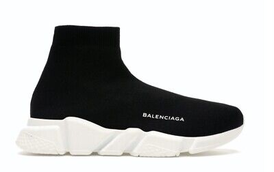 Balenciaga Speed Trainer Black White Shoes (2016) 43EU, 10US, 9UK