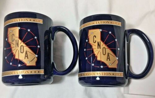 2 CNOA California Narcotics Officer Association Coffee Mugs Region 5